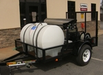 cold water pressure trailer rig