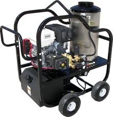 portable hot water pressure washers