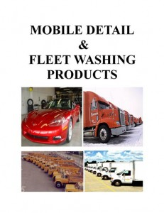 Truck Washing And Fleet washing Chemicals