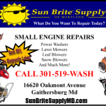 Small Engine Repairs In Montgomery County Maryland