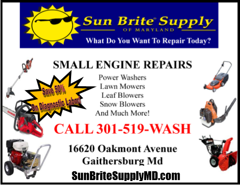 <i>Small Engine Repairs</i> In Montgomery County Maryland